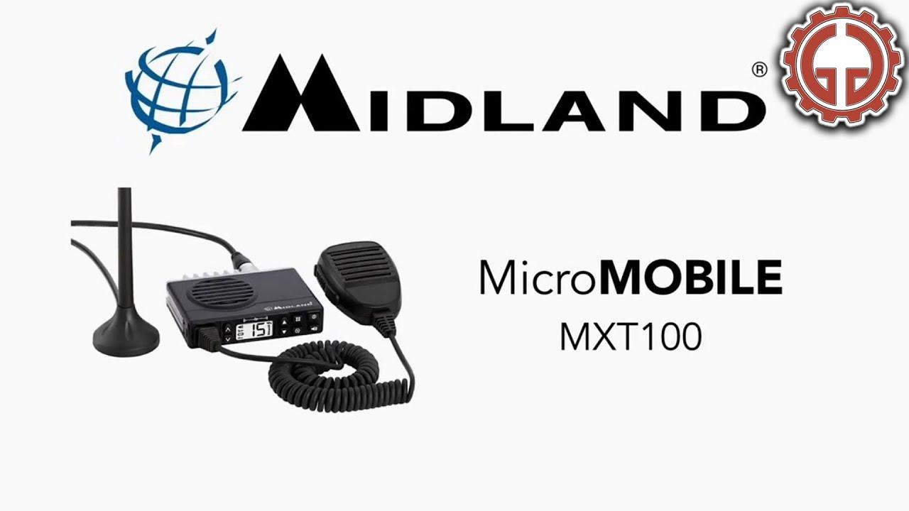 Midland MicroMobile MXT100 GMRS Two Way Radio - Installation