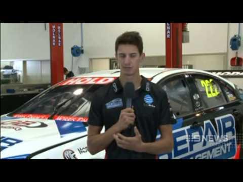Darwin V8 Supercar Preview - Nick Percat