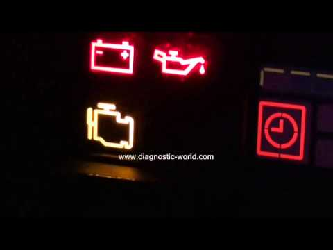 Mercedes Engine Management Warning Light Need To Diagnose