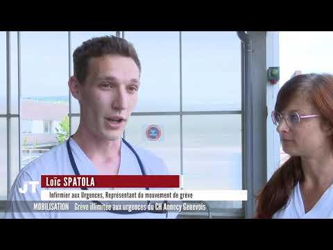 Grève Illimitée Aux Urgences Du CH Annecy Genevois