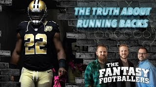 Fantasy Football 2017 - The TRUTH About Fantasy RB's in 2016, Part 1 - Ep. #344