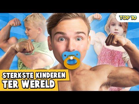 10 STERKSTE KINDEREN TER WERELD!