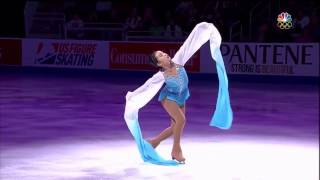 水袖 + 花滑 《音樂: 十面埋伏》 - 陳楷雯 - 2017美國全國花滑錦標賽冠軍