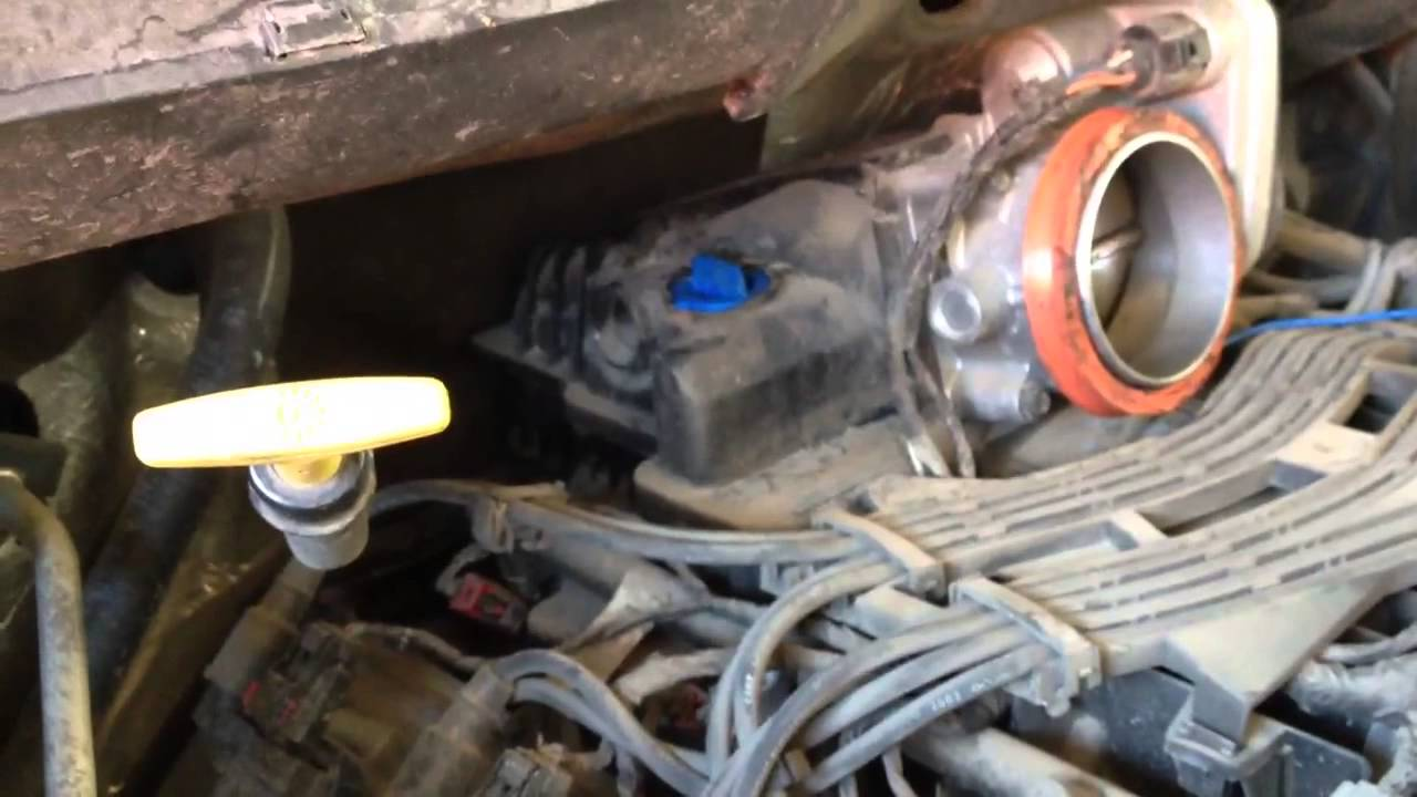 idle sensor location 2005 dodge