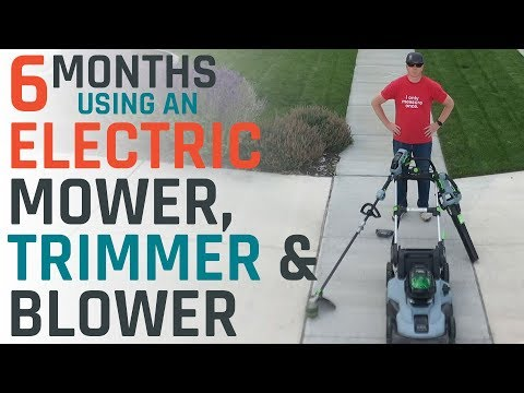 Electric Mower, Trimmer And Blower Review: Electric Is Finally Ready