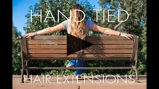 Hand Tied Hair Extensions at Estilo Salon