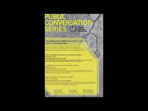 REBUILD | 2017-2018 Public Conversation Series