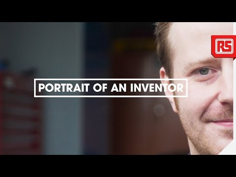 Portrait of an Inventor   Dave Moulds   Team Carbide   RS Components