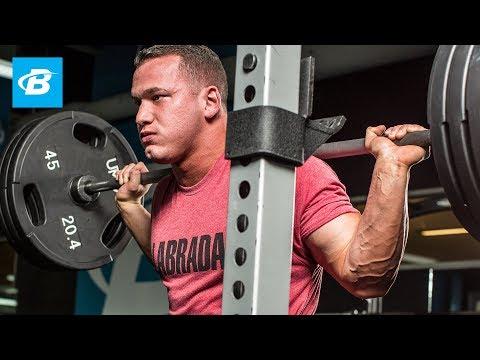 5 Move Leg Workout for Mass | Hunter Labrada