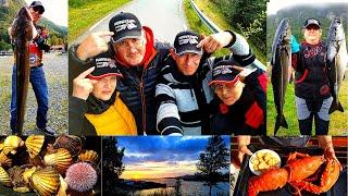 Норвегия, рыбалка и путешествия - любовь с первой секунды.