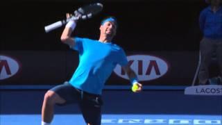 Australian Open: Djokovic's brilliance frustrates Fognini - 2014 Australian Open