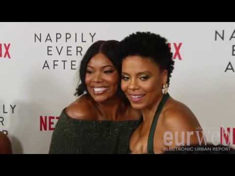 Sanaa, Gabrielle Union, Nia Long & More Talk Hair Netflix's Nappily Ever After Premiere