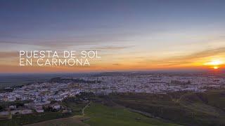Puesta de sol en Carmona | Santiago Molina