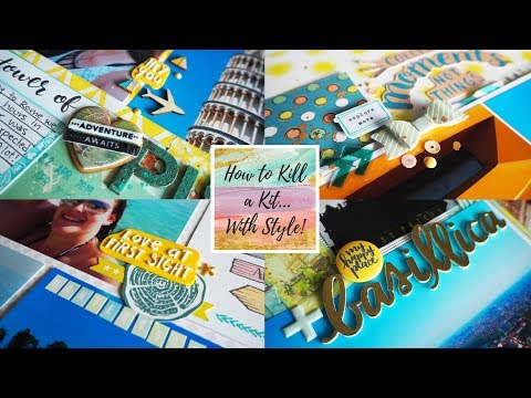 June Kill a Kit... With Style! Layout Share!