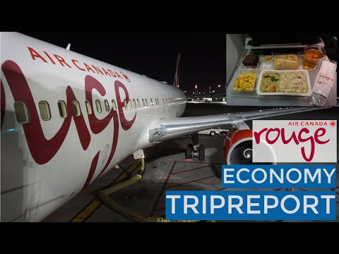 TRIPREPORT | Toronto To Budapest | Air Canada Rouge (Economy) | 767-333ER (C-FMXC)