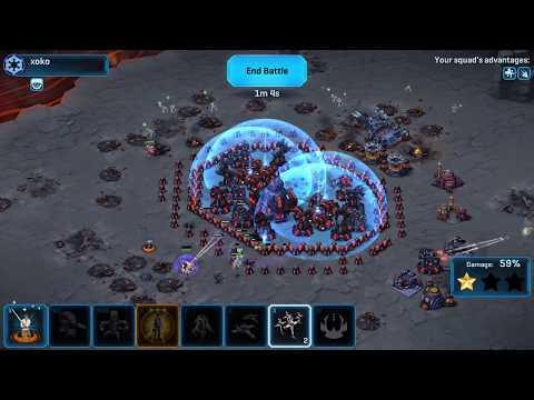 Star Wars Commander  Squad War  Rebels  Mol Eliza vs Xoko