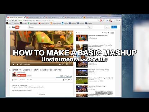 basic mashup howto (audacity)
