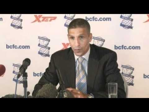 New boss Chris Hughton welcomes task at Birmingham City