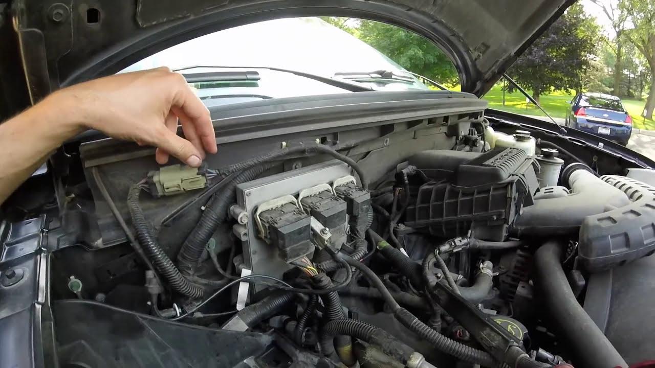 ford f150 4x4 wheel end vacuum ( iwe grinding ) problem fixed  YouTube