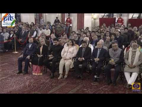 Amitabh Bachchan to receive Dada Saheb Phalke Award - LIVE from Rashtrapati Bhawan