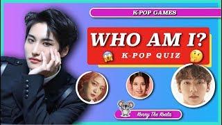 Who Am I? K-Pop Quiz #2  K-POP GAME 