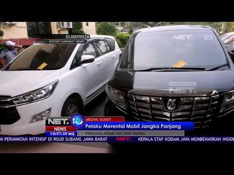 Dua Tersangka Penggelapan 100 Unit Mobil Merupakan Oknum Polisi - NET 10