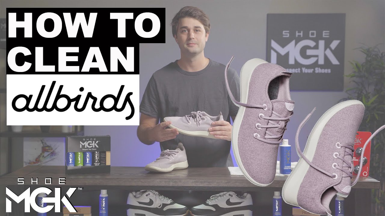 How do you wash Allbirds shoes? Can you