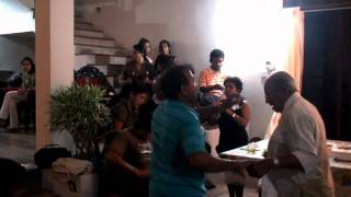 Sinhala New Year in  Sri Lanka - Get-together Party Part 06