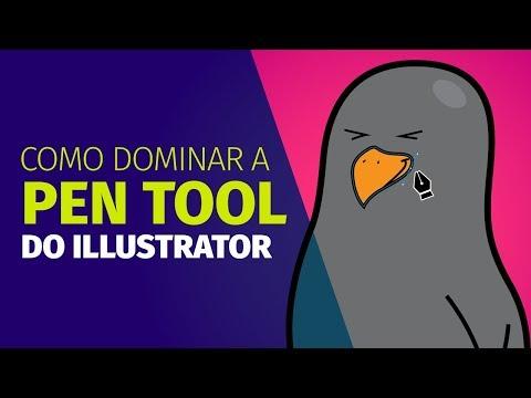 5 dicas para dominar a PEN TOOL no Illustrator