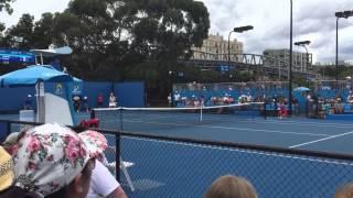 Матчболы Сергея Стаховского и Элины Свитолиной в первом круге Australian Open