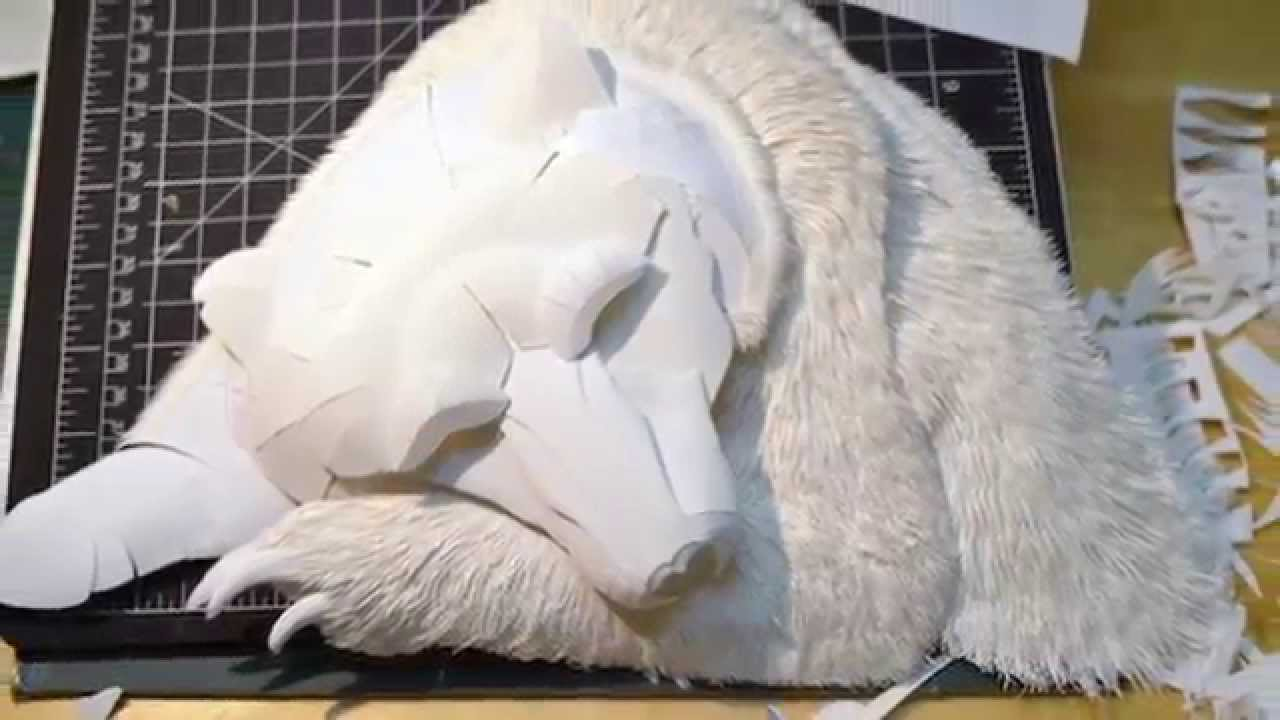 Aphoenixd amazing 3d paper sculptures by calvin nicholls for 3d sculpture artists