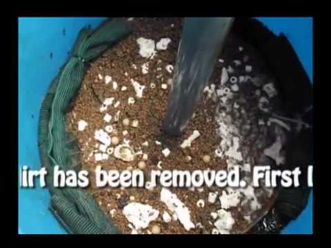 Cleaning diy bio filter 55 gallons for koi pond youtube for Biofilter for koi pond