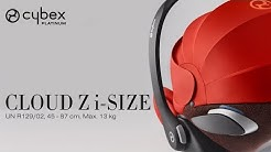CYBEX Cloud Z i-Size Tutorial