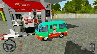 Angkot Driving in New Bangkalan City - Bus Simulator Indonesia - Android Gameplay