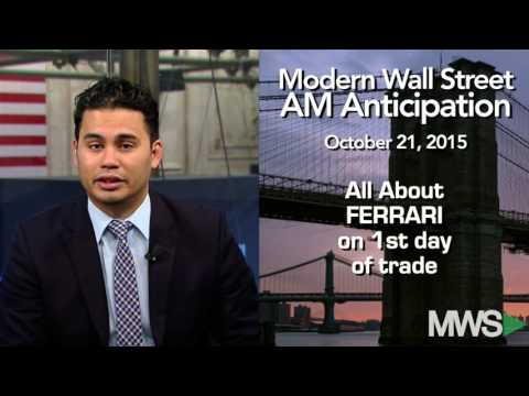 Modern Wall Street AM Anticipation: October 21, 2015