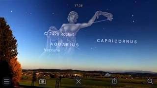 Skyguide AR on iPhone with iOS 11 ARkit support | HD 60FPS