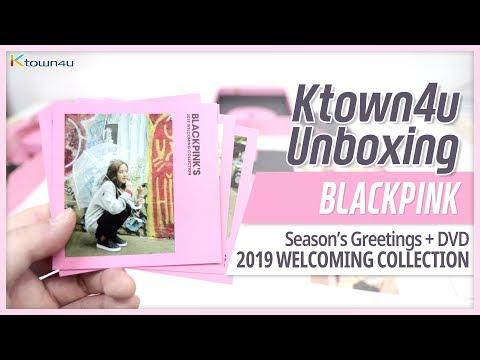 Unboxing BLACKPINK 2019 WELCOMING COLLECTION 블랙핑크 ブラックピンク 언박싱 Kpop Ktown4u