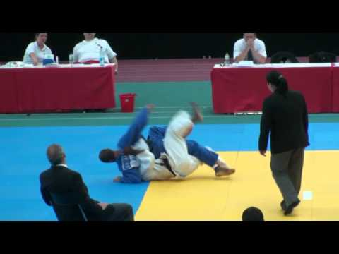 Judo Grand Masters WM 2011 Peter Kirchmaier Judoweltmeister M2-66kg