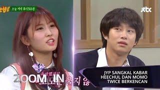 JYP dan Label SJ Sangkal Kabar Hee-chul SUPER JUNIOR dan Momo TWICE Pacaran | ZOOM IN