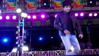 Babusan dancing on stage ! tatoo bali !megha ru tu jharilu ! jatra biswa darabar maniabandha