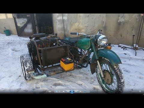 Такого мотоцикла вы не видели 2. Первый выезд.