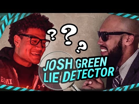 """I'm Better Than Nico."" Josh Green Spills The IMG SECRETS On Lie Detector 😱"