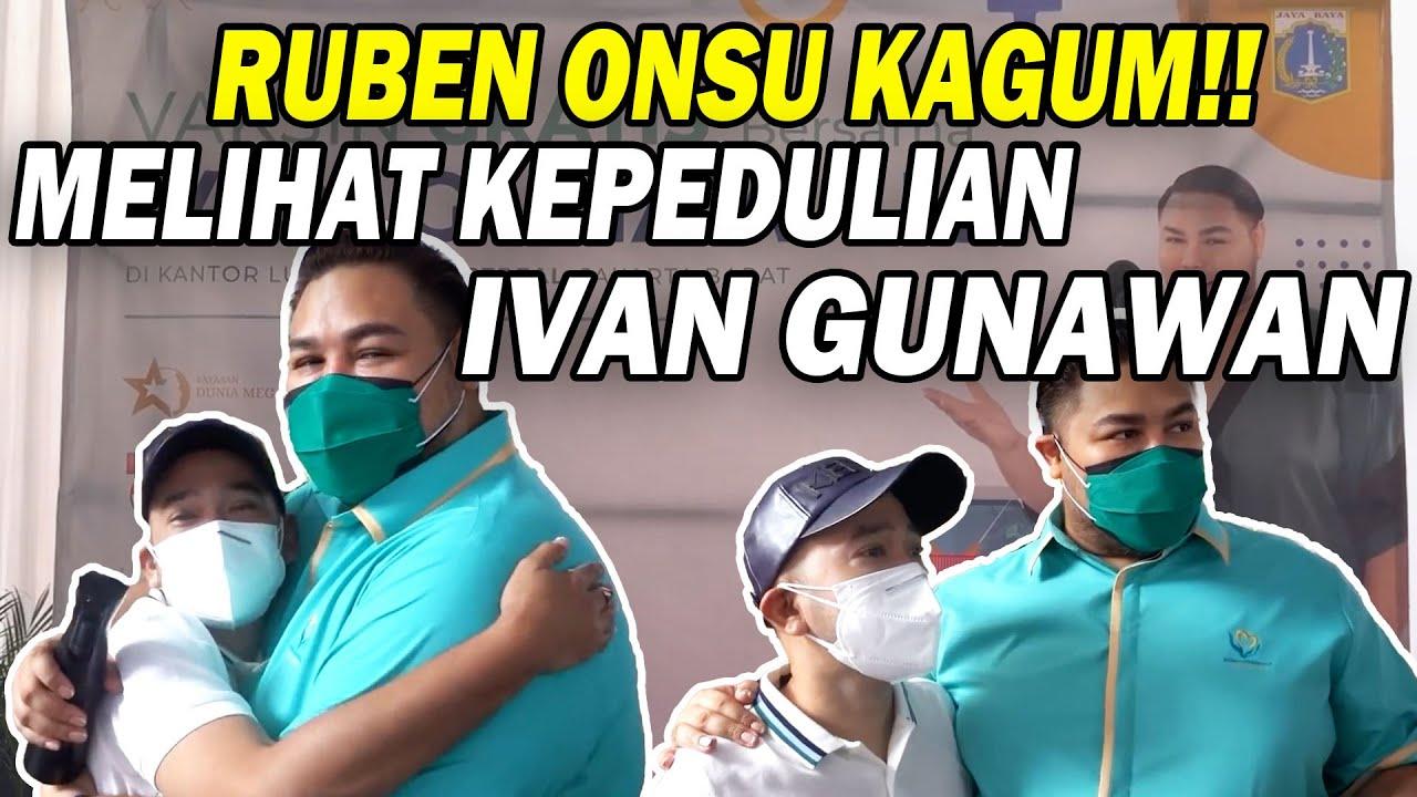 The Onsu Family - Adakan Vaksin GRATIS Ruben Onsu acungkan JEMPOL untuk Ivan Gunawan!!!