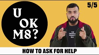 UOKM8? How To Speak To Your Friends About Your Mental Health