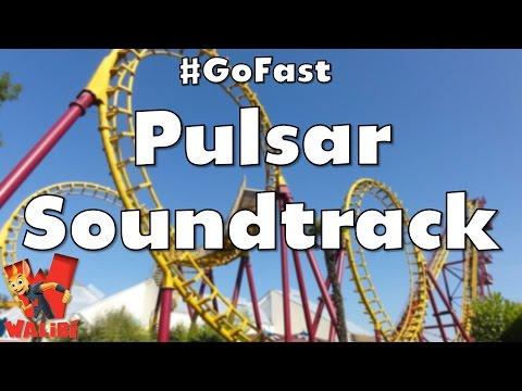 Walibi Belgium - Pulsar Soundtrack