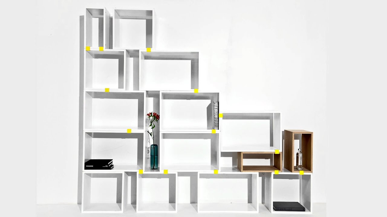 particle by storage design shin reach within products bookshelf furniture shelving azumi case contemporary