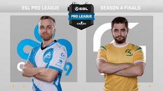 CS:GO - Cloud9 vs. SK [Dust2] Map 3 - Grand Final - ESL Pro League Season 4