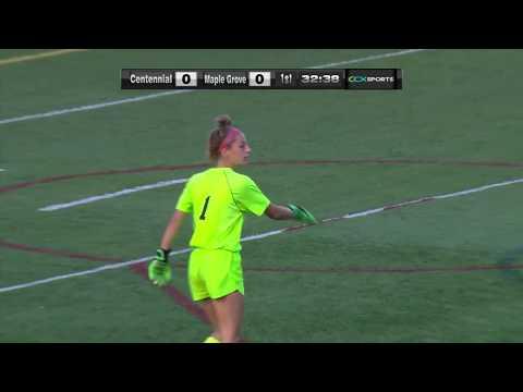 Maple Grove vs. Centennial Girls High School Soccer