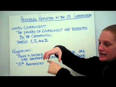 Limited government and Federalism