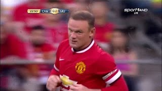 Wayne Rooney vs Club America Neutral HD 720p50fps (18/07/2015) by WayneRooney10i